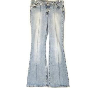 Silver Jeans Co. Boho Destressed Jeans Sz 33x35